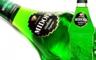 Рецепт коктейля Мидори