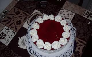 Холодный торт «Белоснежка»