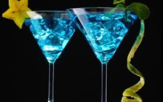 Рецепт коктейля Кораловое море
