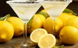 Рецепт коктейля Лимончелло со сливками