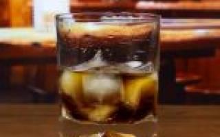 Рецепт коктейля Чёрный Русский