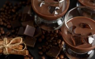 Рецепт коктейля Шоколадный торт