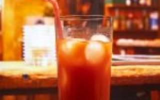Рецепт коктейля Кровавый Сицилийский